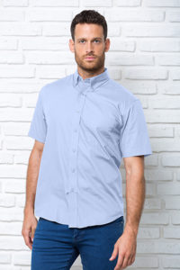 Рубашка с коротким рукавом модель OXFORD